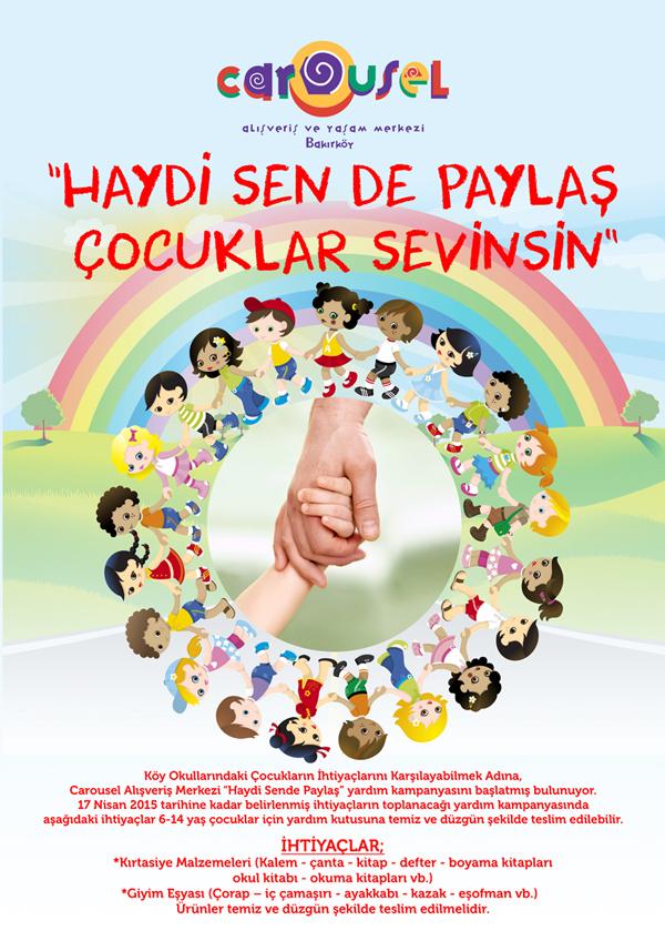Trendsetter Istanbul Carousel Köy Okullarina El Uzatiyor